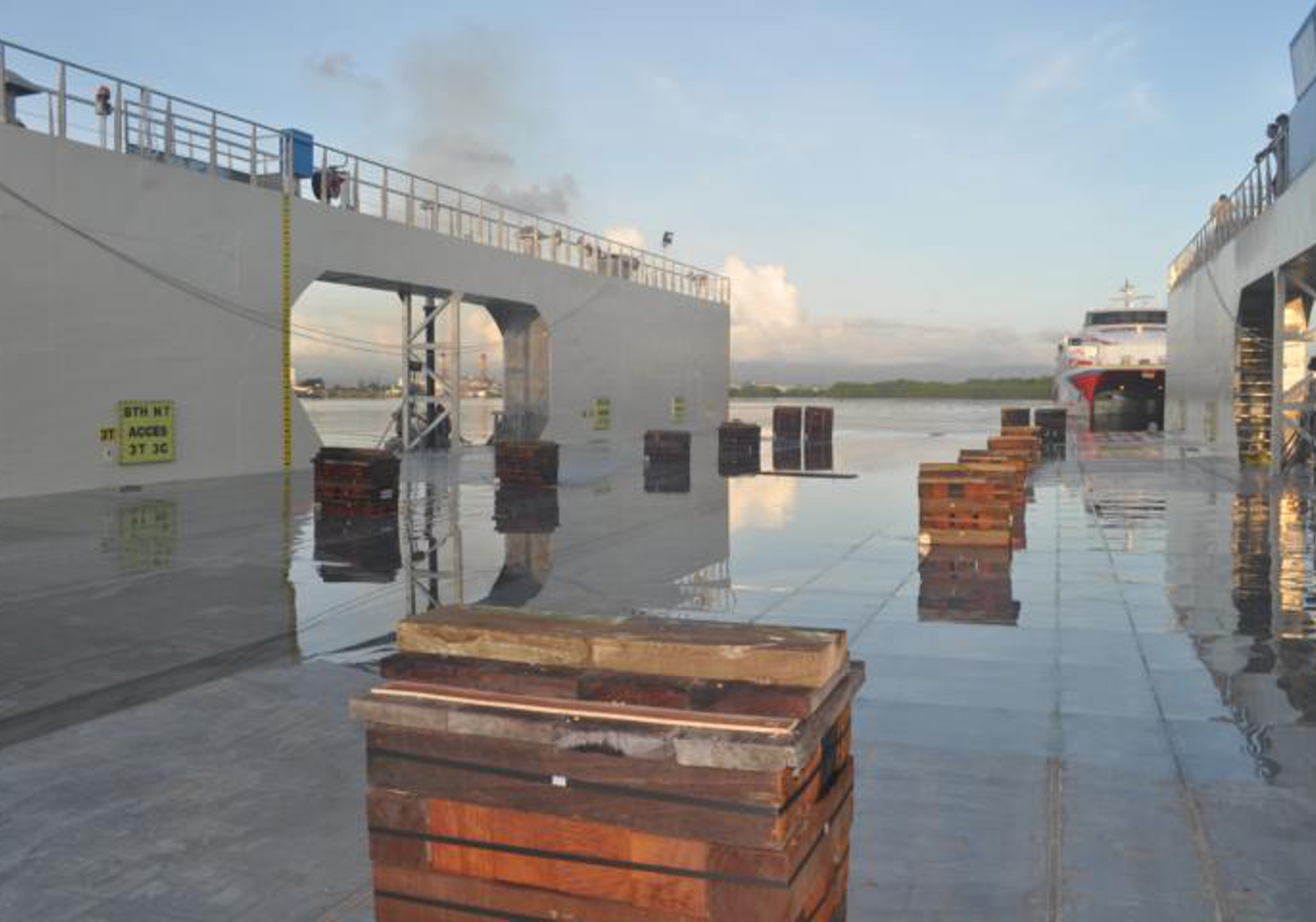 Dock flottant (TIG)